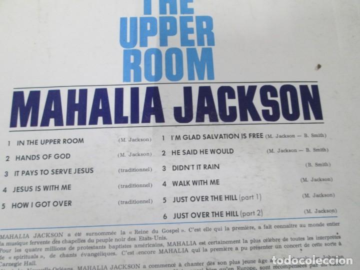 Discos de vinilo: MAHALIA JACKSON. IN THE UPPER ROOM. LP VINILO. DISQUES VOGUE. VER FOTOGRAFIAS ADJUNTAS - Foto 7 - 170427644