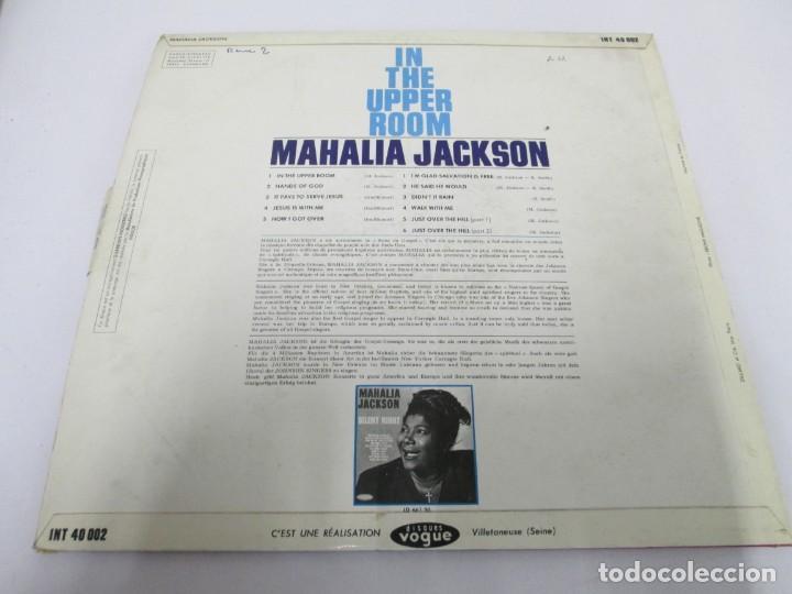Discos de vinilo: MAHALIA JACKSON. IN THE UPPER ROOM. LP VINILO. DISQUES VOGUE. VER FOTOGRAFIAS ADJUNTAS - Foto 8 - 170427644
