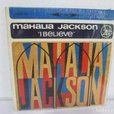 Discos de vinilo: MAHALIA JACSON. I BELIEVE. LP VINILO. GRAND AWARD 1955. VER FOTOGRAFIAS ADJUNTAS. Lote 170427892