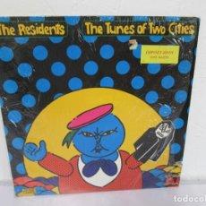 Discos de vinilo: THE RESIDENTS. THE TUNES OF TWO CITIES. LP VINILO. PALE PACHYDERM 1982. VER FOTOGRAFIAS ADJUNTAS. Lote 170429376