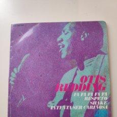 Disques de vinyle: CR OTIS REDDING ---FA FA FA FA / RESPECT / SHAKE / TRY A LITTLE TENDERNESS-- ORIGINAL AÑO 1967. Lote 170434169