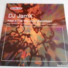 Discos de vinilo: MAXI DE DJ JAMX. KEEP IT THAT WAY PT.2 / SEXOMATIC. NEOLENT TRACKS. (VER DETALLES EN FOTOS). Lote 170435312