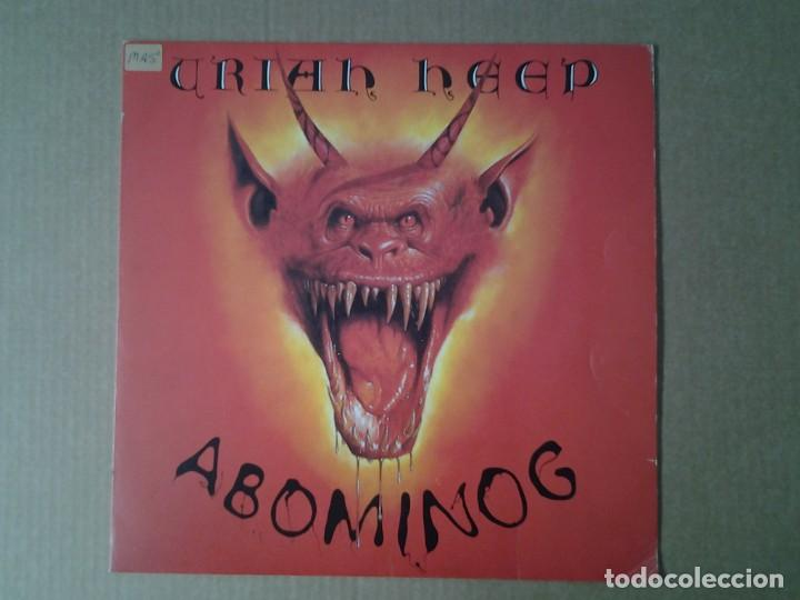 Uriah Heep Abominog Lp Bronze 1982 Ed Espan Buy Vinyl Records Lp Jazz Jazz Rock Blues And R B At Todocoleccion 170441004