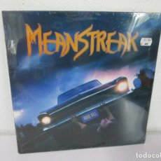 Discos de vinilo: MEANSTREAK. LP VINILO. NUEVO SIN DESPRECINTAR. MERCENARY RECORDS 1988. VER FOTOGRAFIAS ADJUNTAS. Lote 170441904