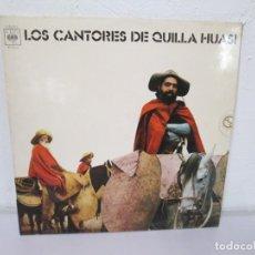 Discos de vinilo: LOS CANTORES DE QUILLA HUASI. LP VINILO. CBS COLUMBIA 1972. VER FOTOGRAFIAS ADJUNTAS. Lote 170442192