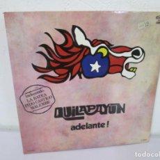 Discos de vinilo: QUILAPAYUN. ADELANTE! LP VINILO. MOVIEPLAY 1977. VER FOTOGRAFIAS ADJUNTAS. Lote 170443060