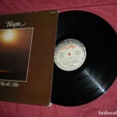 Discos de vinilo: BLOQUE- EL HIJO DEL ALBA LP 1980 DOBLE PORTADA CHAPA DISCOS . Lote 170445320