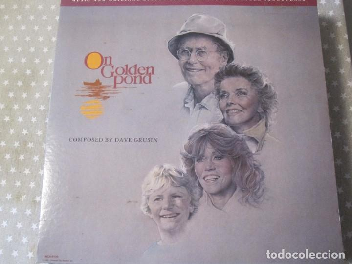ON GOLDEN POUND EN EL ESTANQUE DORADO (Música - Discos - LP Vinilo - Bandas Sonoras y Música de Actores )