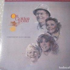 Discos de vinilo: ON GOLDEN POUND EN EL ESTANQUE DORADO. Lote 170448436