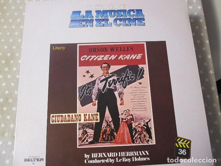 CIUDADANO KANE (Música - Discos - LP Vinilo - Bandas Sonoras y Música de Actores )