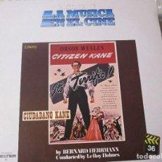 Discos de vinilo: CIUDADANO KANE. Lote 170448716
