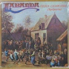 Discos de vinilo: LABANDA: FIESTA CAMPESTRE ROCKMERIA - LP DOBLE PORTADA - 1981 *IMPECABLE*. Lote 141265518