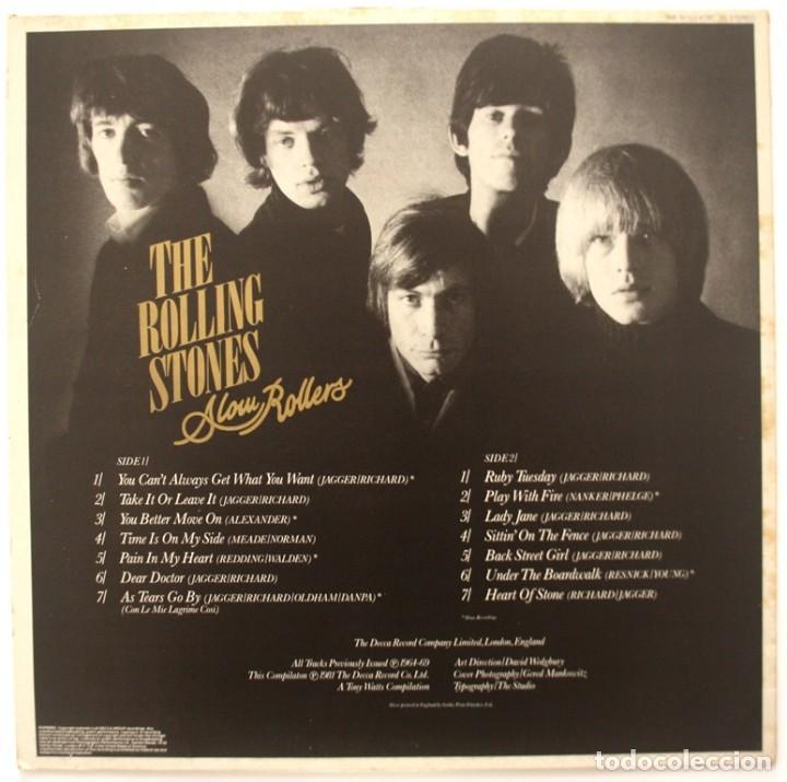 Discos de vinilo: ROLLING STONES. SLOW ROLLERS 1981 - Foto 2 - 170517936