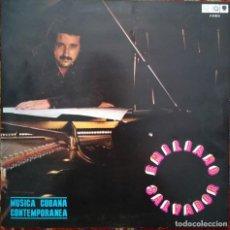 Discos de vinilo: EMILIANO SALVADOR, VARIOS TEMAS MÚSICA CONTEMPORÁNEA,CUBA,SELLO EGREM. Lote 170520852