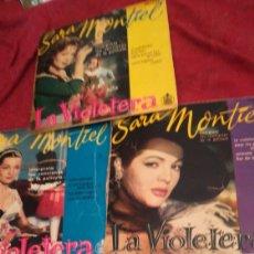 Discos de vinilo: 3 ANTIGUOS VINILOS DE SARA MONTIEL. Lote 170521110