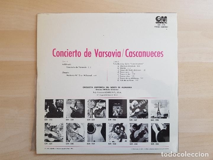 Discos de vinilo: CONCIERTO DE VARSOVIA - CASCANUECES - LP VINILO - GRAMUSIC - 1973 - Foto 2 - 170521596