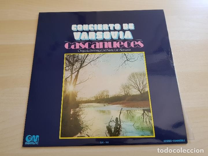 CONCIERTO DE VARSOVIA - CASCANUECES - LP VINILO - GRAMUSIC - 1973 (Música - Discos - LP Vinilo - Clásica, Ópera, Zarzuela y Marchas)