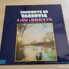 Discos de vinilo: CONCIERTO DE VARSOVIA - CASCANUECES - LP VINILO - GRAMUSIC - 1973. Lote 170521596