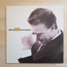 Discos de vinilo: ALFREDO KRAUS - CON EL CORAZÓN - DOBLE LP VINILO - SERDISCO - 1991. Lote 170521860