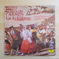 Discos de vinilo: KARAJAN - BIZET - SUITES DE CARMEN - LA ARTESIANA - LP VINILO - DEUTSCHE GRAMMOPHON - 1983. Lote 170522124