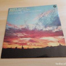 Discos de vinilo: BIZET - TE DEUM POULENC - GLORIA - LP VINILO - VOX -1980. Lote 170524476