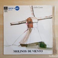 Discos de vinilo: PABLO LUNA - MOLINOS DE VIENTO - LP VINILO - SERIE AZUL - EMI - 1967. Lote 170537532