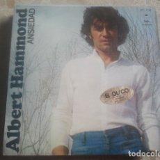 Disques de vinyle: ALBERT HAMMOND - LOTE DE ANTIGUOS DISCOS DE VINILO - 3 SINGLES - VER FOTOS. Lote 170538724