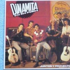 Discos de vinilo: DINAMITA PA LOS POLLOS,JUNTOS Y REVUELTOS DEL 92. Lote 289216273