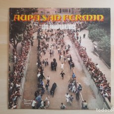 Discos de vinilo: AUPA SAN FERMIN - LOS PAMPLONICAS - LP VINILO - OLYMPO - 1972. Lote 170543692