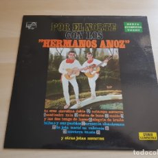 Discos de vinilo: POR EL NORTE - HERMANOS ANOZ - LP VINILO - ZAFIRO - 1972. Lote 170543932