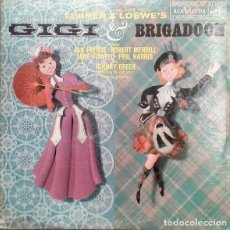 Discos de vinilo: THE GREAT SONG HITS FROM LERNER & LOEWE'S GIGI & BRIGADOON (USA, 1960). Lote 170548912