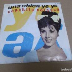 Discos de vinilo: CONCHITA VELASCO (SN) UNA CHICA YE-YE AÑO – 1980. Lote 170557792
