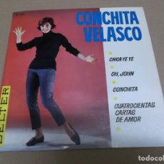 Discos de vinilo: CONCHITA VELASCO (EP) CHICA YE-YE AÑO – 1965. Lote 170557920