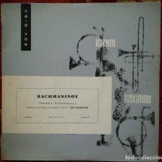 Discos de vinilo: RACHMANINOV, SINFONÍA N. 1.ORQUESTA DE LENINGRADO. VINILO GRABADO EN RUSIA. Lote 170565692