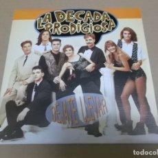 Disques de vinyle: DECADA PRODIGIOSA, LA (SN) DEJATE LLEVAR AÑO – 1992 - PROMOCIONAL. Lote 170566548