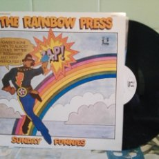 Discos de vinilo: THE RAINBOW PRESS THE SUNDAY FUNNIES LP CANADA 1969 PEPETO TOP. Lote 170569140