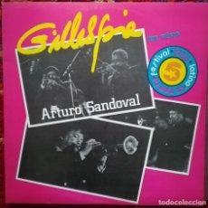 Discos de vinilo: ARTURO SANDOVAL Y DIZZI GILLESPIE, CONCIERTO EN VIVO. SELLO EGREM, CUBA. Lote 170596330