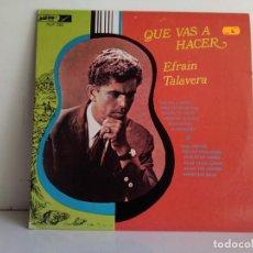 Discos de vinilo: EFRAIN TALAVERA . Lote 170670140