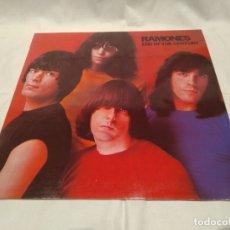 Disques de vinyle: RAMONES -END OF THE CENTURY- (1980) LP DISCO VINILO. Lote 170691605