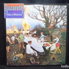 Discos de vinilo: NAZARETH - MALICE IN WONDERLAND - LP. Lote 170710350