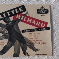 Discos de vinilo: EP DEL CANTANTE NORTEAMERICANO DE ROCK AND ROLL, LITTLE RICHARD - UK FIRST PRESS. Lote 170711665