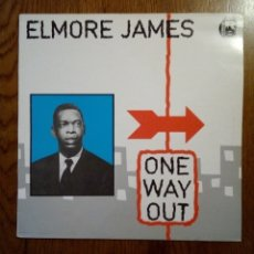 Discos de vinilo: ELMORE JAMES - ONE WAY OUT, ZAFIRO, 1987. SPAIN.. Lote 170725958
