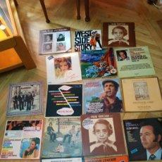 Discos de vinilo: 16 DISCOS VARIADOS. Lote 170850835