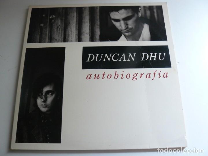 DUNCAN DHU - AUTOBIOGRAFIA - 1989 - DOBLE LP - EX (Música - Discos - LP Vinilo - Grupos Españoles de los 70 y 80)