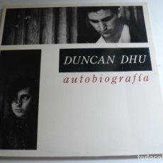 Discos de vinilo: DUNCAN DHU - AUTOBIOGRAFIA - 1989 - DOBLE LP - EX. Lote 170856385