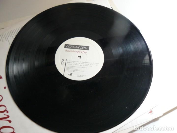 Discos de vinilo: DUNCAN DHU - AUTOBIOGRAFIA - 1989 - DOBLE LP - EX - Foto 5 - 170856385