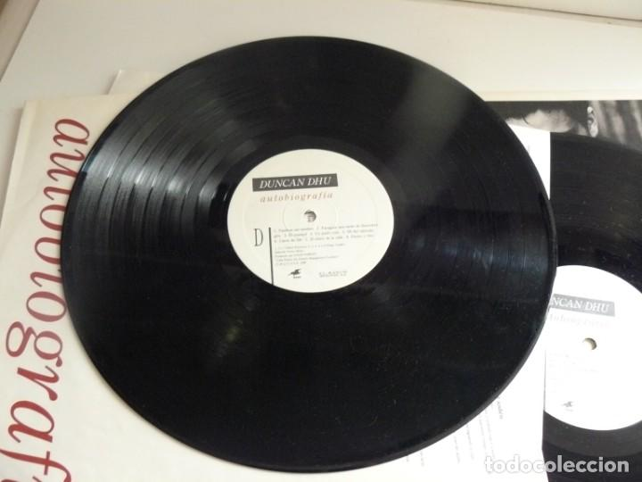 Discos de vinilo: DUNCAN DHU - AUTOBIOGRAFIA - 1989 - DOBLE LP - EX - Foto 7 - 170856385