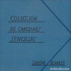 Discos de vinilo: LP LORENA ALVAREZ COLECCION DE CANCIONES SENCILLAS VINILO ASTURIAS. Lote 187184053