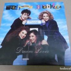 Discos de vinilo: THE REBEL PEBBLES (SN) DREAM LOVER AÑO – 1991. Lote 170882045