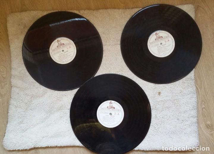 Discos de vinilo: 3 Lp vinilo 1963 Homenaje Carlos Gardel XVIII Aniversario Muerte Edición limitada Fotos y testamento - Foto 14 - 108723483